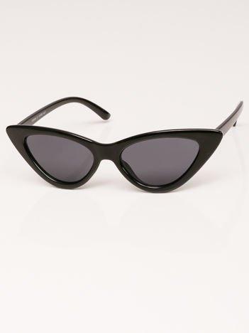 VIP LIFE Okulary przeciwsłoneczne damskie brązowe szkło szare