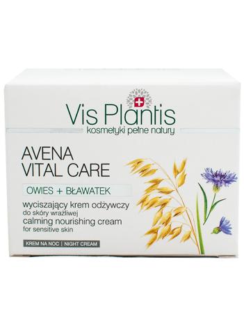 Vis Plantis Avena Vital Care Krem odżywczy na noc do cery wrażliwej 50 ml