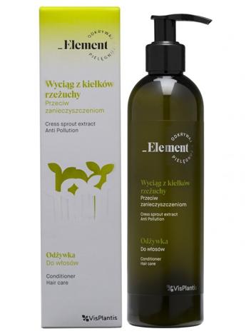 Vis Plantis Element Wyciąg z Kiełków Rzeżuchy Odżywka do włosów przeciw zanieczyszczeniom 300 ml