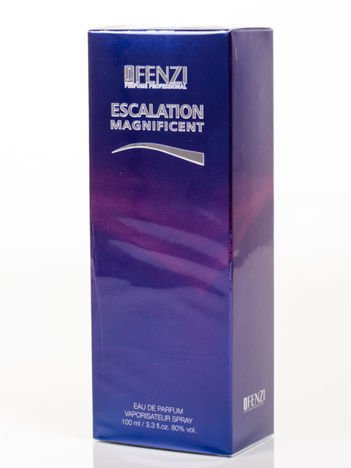 WODA PERFUMOWANA DAMSKA JFENZI ESCALATION MAGNIFICENT 100 ml