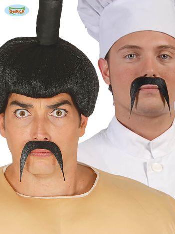 Wąsy samoprzylepne czarne