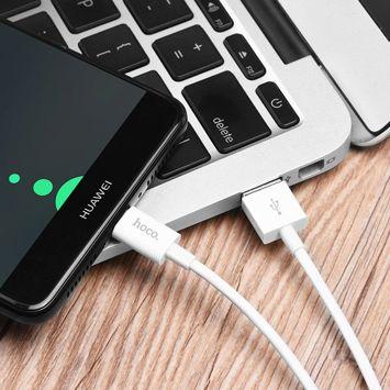 X23 Doskonały kabel do ładowania danych Type-C dla urządzeń z systemem Android Długość 1 m w oplocie TPS złącza ABS Kolor biały