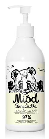 YOPE Balsam do rąk Miód i Bergamotka 500 ml