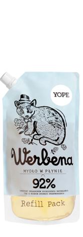 YOPE Doypack Mydło w płynie Werbena 500 ml