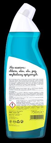 """YOPE Naturalny Żel do czyszczenia toalet - Limonka i Mięta 750ml"""""""