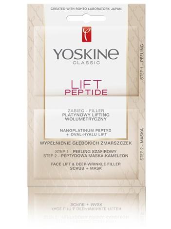 Yoskine Lift Peptide Zabieg - Filler Platynowy lifting wolumetryczny 5ml x 2
