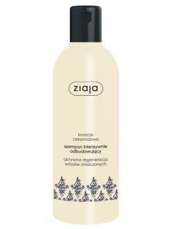 ZIAJA Ceramidowy szampon intensywnie odbudowujący 300 ml