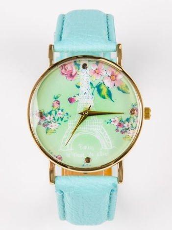 Zegarek damski PARIS miętowy
