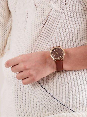 Zegarek damski brązowy
