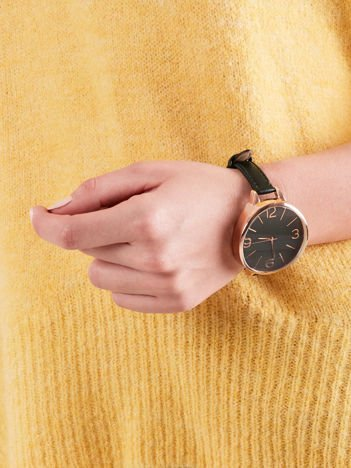 Zegarek damski butelkowa zieleń