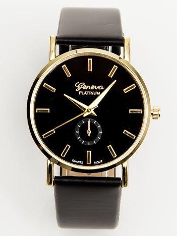 Zegarek damski złoto-czarny klasyczny