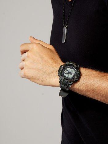 Zegarek męski moro szary