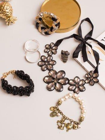 Zestaw eleganckiej damskiej biżuterii 6 sztuk