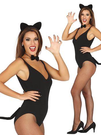 Zestaw rekwizytów Czarna kotka