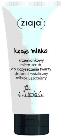 Ziaja Kozie Mleko KRZEMIONKOWY MICRO-SCRUB do oczyszczania twarzy 75 ml