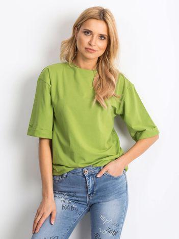 Zielona bluzka damska Lightweight