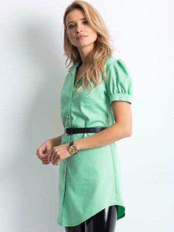 Zielona koszula Overly