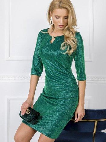 Zielona sukienka Diamonds