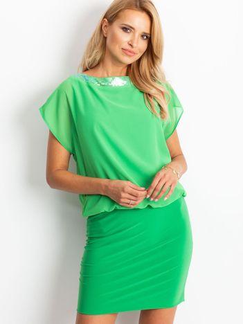 Zielona sukienka Light