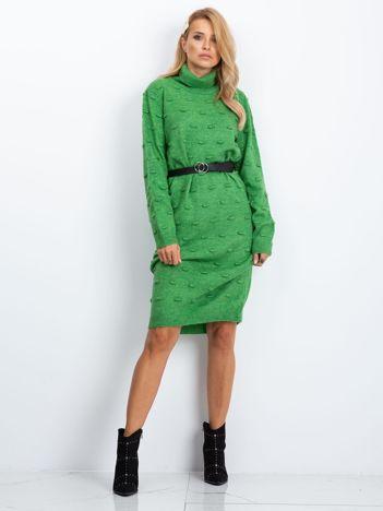 Zielona sukienka Silky