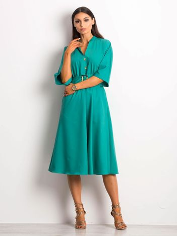 Zielona sukienka Synonymous