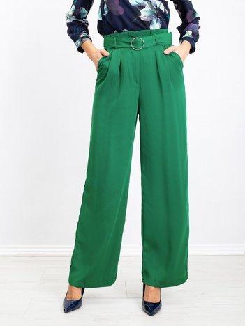 Zielone spodnie Grass