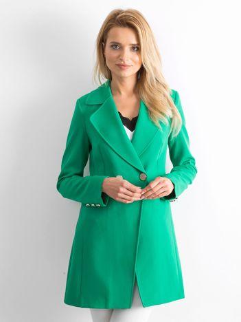 Zielony płaszcz Secret