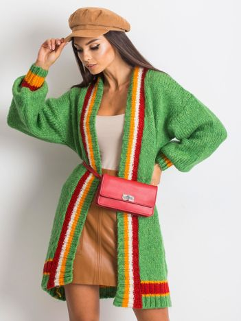 Zielony sweter Lavish