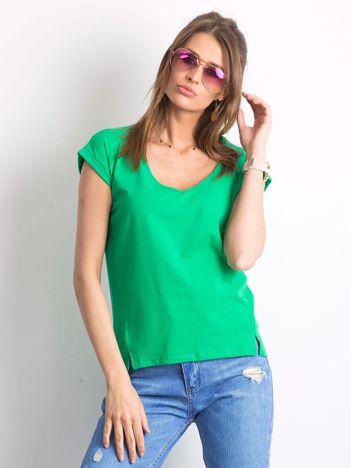 Zielony t-shirt Choose