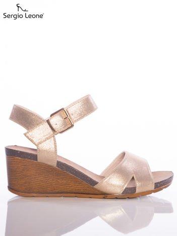 Złote sandały Sergio Leone na koturnach