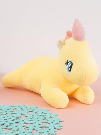 Żółta maskotka Jednorożec