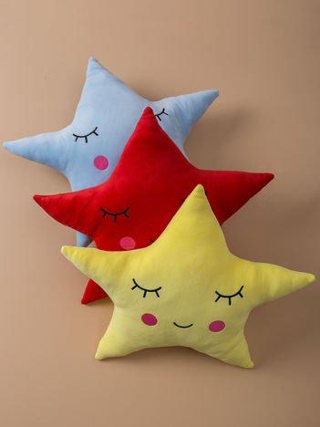 Żółta poduszka Gwiazda