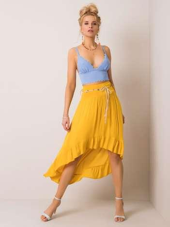 Żółta spódnica Alicia