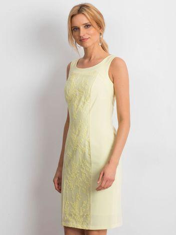 Żółta sukienka Chastity