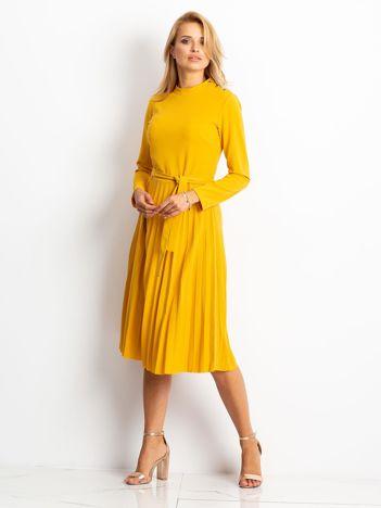 Żółta sukienka Eternal