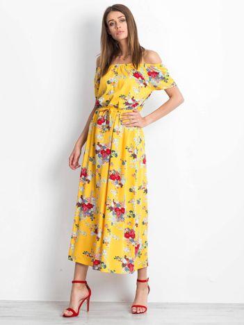 Żółta sukienka Ibiza