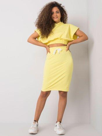 Żółty komplet trzyczęściowy Garnet