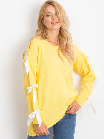 Żółty sweter Montana