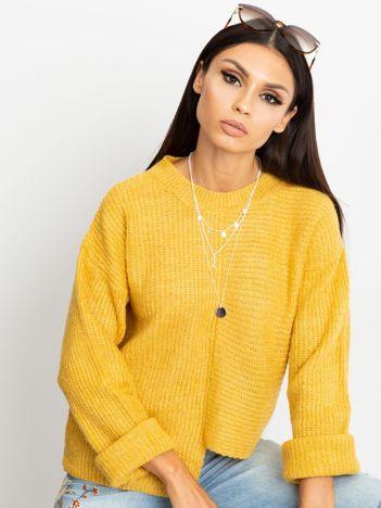 Żółty sweter Sunset