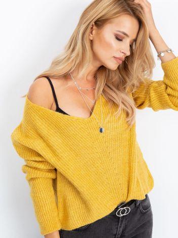 Żółty sweter Touch