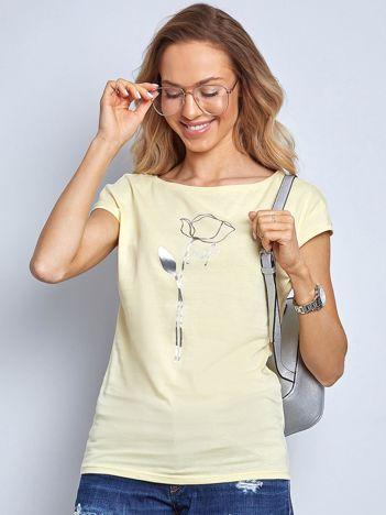Żółty t-shirt Quest