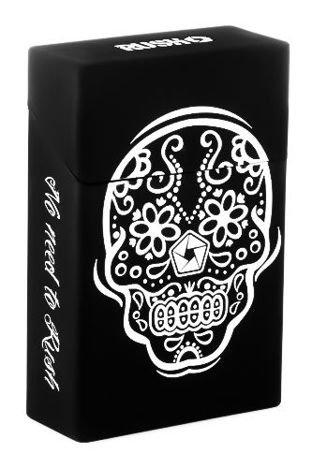 toys4smokers Etui silikonowe na papierosy MEXICAN SKULL BY RUSH