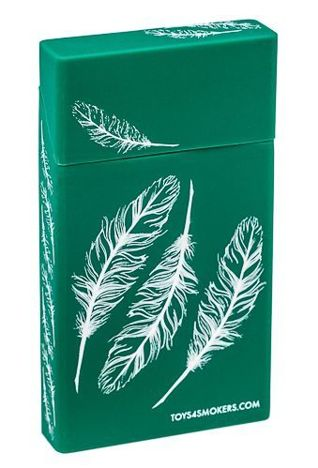 toys4smokers Etui silikonowe na papierosy slim FEATHER