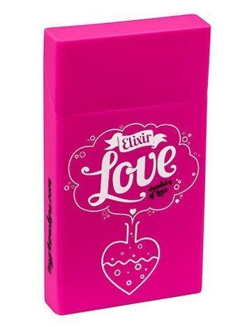 toys4smokers SLIM/ Etui silikonowe na papierosy- Love elixir