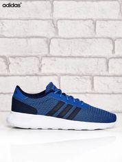 ADIDAS niebieskie buty męskie sportowe w graficzny wzór