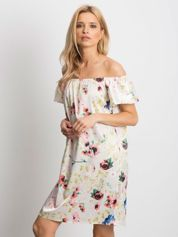 Beżowa sukienka Perfectly