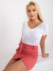 Biały t-shirt Emory