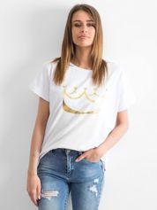 Biały t-shirt Kingdom
