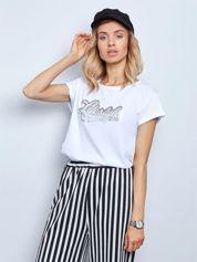 Biały t-shirt Lifestyle