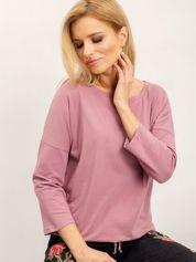 Brudnoróżowa bluzka Fiona